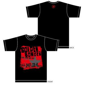 「オールゲイズ二丁目のユウジ」メンズTシャツB(黒L)