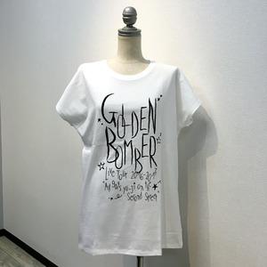 「オールゲイズ二丁目のユウジ」レディースTシャツ(白) (2)