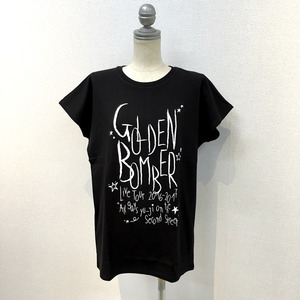 「オールゲイズ二丁目のユウジ」レディースTシャツ(黒) (2)