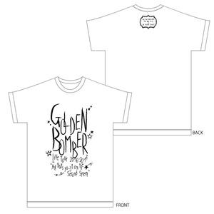 「オールゲイズ二丁目のユウジ」レディースTシャツ(白) (1)