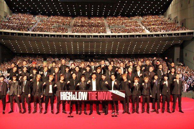 『HiGH&LOW THE MOVIE』完成披露試写会 (1)