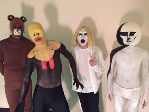ゴールデンボンバーのハロパ仮装をまとめてみた件!2017は仮装ではなく塗装