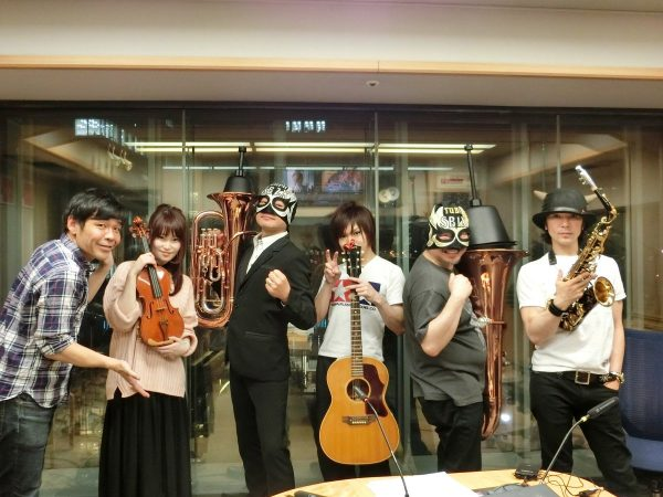 4/21(金)ラジオ「楽器楽園~ガキパラ~」鬼龍院翔出演※音源