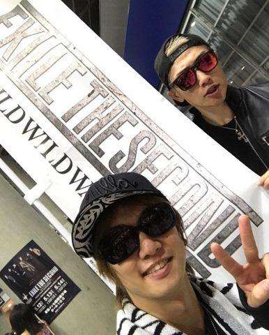 喜矢武豊&樽美酒研二 EXILE THE SECOUNDライブ参戦!