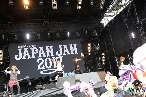 WWSチャンネルに「rockin'on presents JAPAN JAM 2017」ゴールデンボンバーライブレポート掲載!