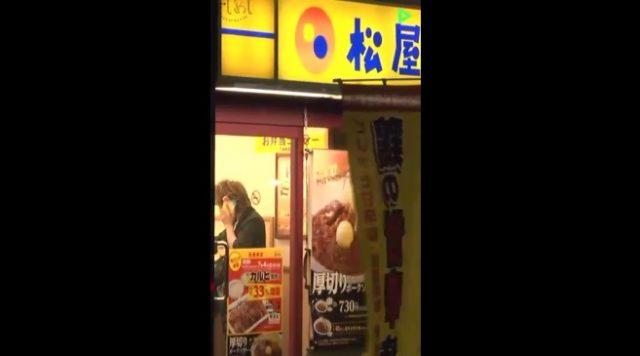 6/29(木)「さしめし」8秒ライブ後リムジンで松屋(喜矢武さん元バイト先)