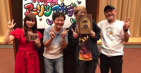 8/12(土)NHK-FM「アニソンアカデミー夏休みスペシャル」歌広場淳!アニメクイズ出題