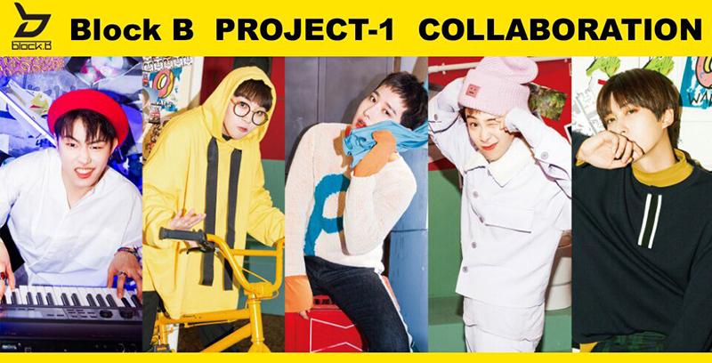 9/19(火)「 Block B PROJECT-1 SPECIAL SHOWCASE」歌広場淳