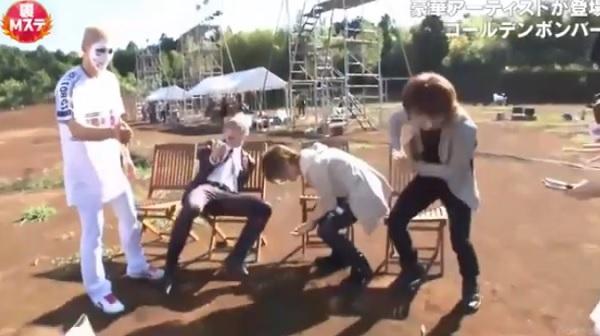 AbemaTV「裏MステウルトラFES2017」ゴールデンボンバー部分※動画