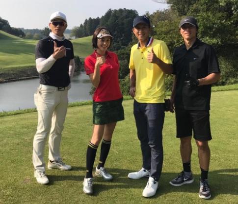 ゴールデンボンバー樽美酒研二&喜矢武豊ゴルフコンペ「第2回OSSO ITALY CUP」参加!