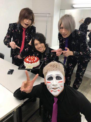 【祝】11月28日 ゴールデンボンバー樽美酒研二Happybirthday!37歳!