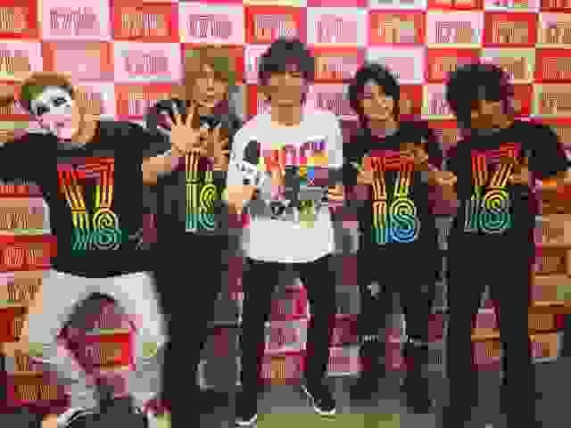 1/7(日)「JAPAN COUNTDOWN」CDJ17/18ゴールデンボンバー