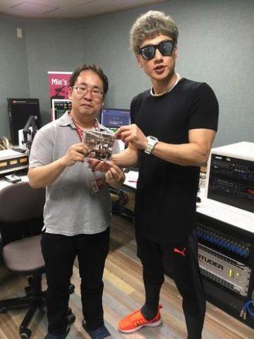 4/9(月) レディオキューブFM三重「EVENING COASTER」樽美酒研二ゲスト出演※ブログ追加