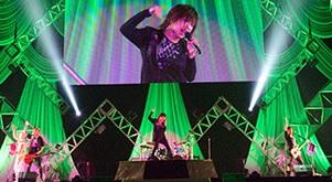 7/15(日)CS「テレビ朝日サマーステーションライブin幕張」ゴールデンボンバーライブ放送