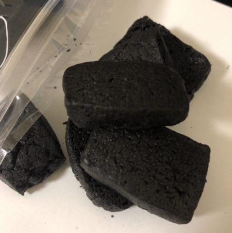 喜矢武さんが爆食いしてた石炭クッキー届いたから爆食いした件【ストーブ列車石炭クッキー】