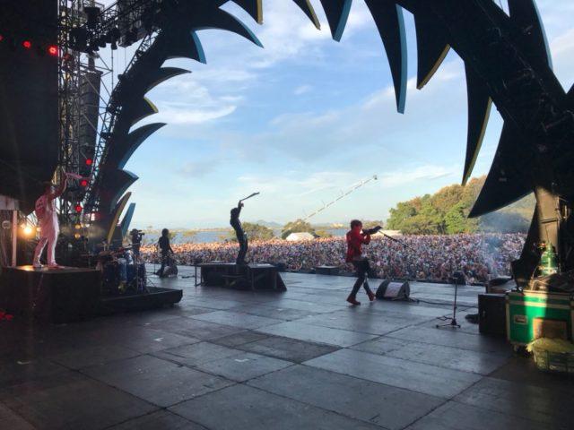 11/30(金)フジテレビNEXT「イナズマロック フェス2018【DAY1】」ゴールデンボンバーライブ・インタビューオンエア