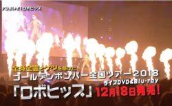 12/18(火)ゴールデンボンバーロボヒップDVD発売!告知動画公開